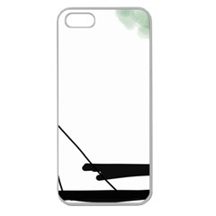 Car Love Birds Birds Pink Car Apple Seamless iPhone 5 Case (Clear)