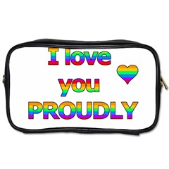 I love you proudly 2 Toiletries Bags 2-Side