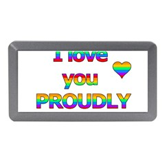 I love you proudly 2 Memory Card Reader (Mini)