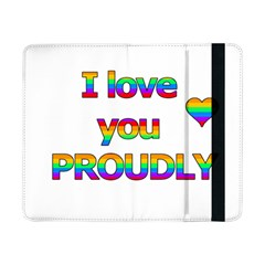 I love you proudly 2 Samsung Galaxy Tab Pro 8.4  Flip Case