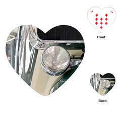 Auto Automotive Classic Spotlight Playing Cards (Heart)