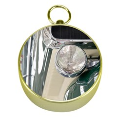 Auto Automotive Classic Spotlight Gold Compasses