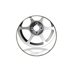 Car Wheel Chrome Rim Hat Clip Ball Marker