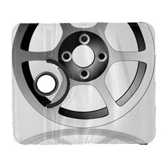 Car Wheel Chrome Rim Galaxy S3 (Flip/Folio)