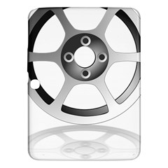 Car Wheel Chrome Rim Samsung Galaxy Tab 3 (10.1 ) P5200 Hardshell Case