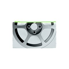 Car Wheel Chrome Rim Cosmetic Bag (XS)