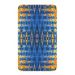Blue And Gold Repeat Pattern Memory Card Reader