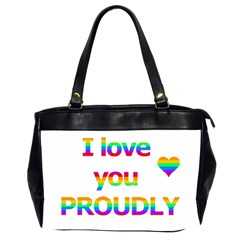 Proudly love Office Handbags (2 Sides)