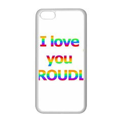 Proudly love Apple iPhone 5C Seamless Case (White)