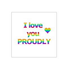 Proudly love Satin Bandana Scarf