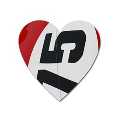 Car Auto Speed Vehicle Automobile Heart Magnet