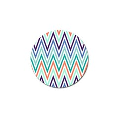 Chevrons Colourful Background Golf Ball Marker (4 pack)
