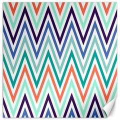 Chevrons Colourful Background Canvas 20  x 20