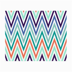 Chevrons Colourful Background Small Glasses Cloth (2-Side)
