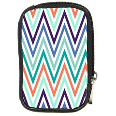Chevrons Colourful Background Compact Camera Cases