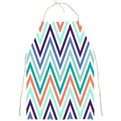 Chevrons Colourful Background Full Print Aprons