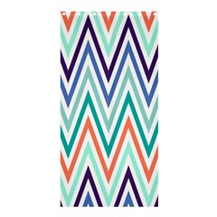 Chevrons Colourful Background Shower Curtain 36  x 72  (Stall)