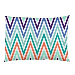 Chevrons Colourful Background Pillow Case (Two Sides)