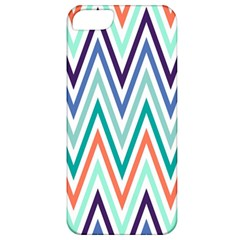 Chevrons Colourful Background Apple iPhone 5 Classic Hardshell Case