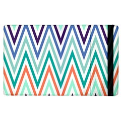 Chevrons Colourful Background Apple iPad 3/4 Flip Case