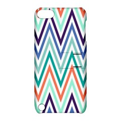Chevrons Colourful Background Apple iPod Touch 5 Hardshell Case with Stand