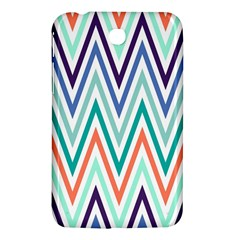 Chevrons Colourful Background Samsung Galaxy Tab 3 (7 ) P3200 Hardshell Case