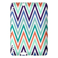 Chevrons Colourful Background Kindle Fire HDX Hardshell Case