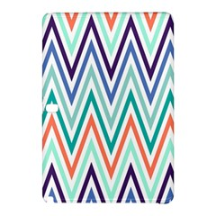 Chevrons Colourful Background Samsung Galaxy Tab Pro 10.1 Hardshell Case