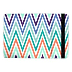 Chevrons Colourful Background Samsung Galaxy Tab Pro 10.1  Flip Case