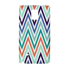 Chevrons Colourful Background Samsung Galaxy Note 4 Hardshell Case