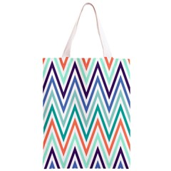 Chevrons Colourful Background Classic Light Tote Bag