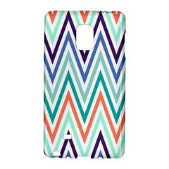 Chevrons Colourful Background Galaxy Note Edge
