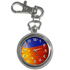 Christmas Abstract Key Chain Watches