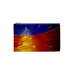 Christmas Abstract Cosmetic Bag (Small)