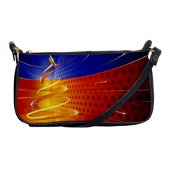 Christmas Abstract Shoulder Clutch Bags