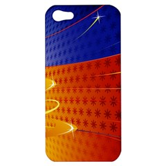 Christmas Abstract Apple iPhone 5 Hardshell Case