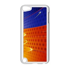 Christmas Abstract Apple iPod Touch 5 Case (White)