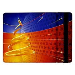 Christmas Abstract Samsung Galaxy Tab Pro 12.2  Flip Case