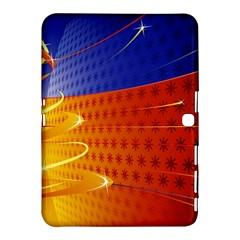 Christmas Abstract Samsung Galaxy Tab 4 (10.1 ) Hardshell Case
