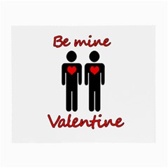 Be mine Valentine Small Glasses Cloth (2-Side)