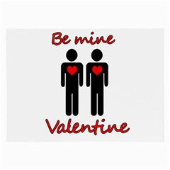 Be mine Valentine Large Glasses Cloth (2-Side)