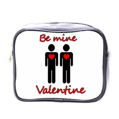 Be mine Valentine Mini Toiletries Bags