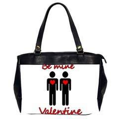 Be mine Valentine Office Handbags (2 Sides)