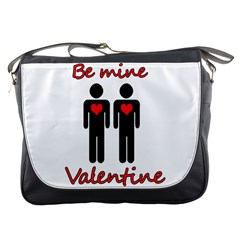 Be mine Valentine Messenger Bags