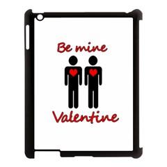 Be mine Valentine Apple iPad 3/4 Case (Black)