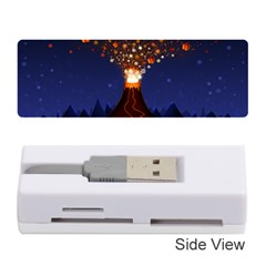 Christmas Volcano Memory Card Reader (Stick)