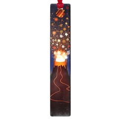 Christmas Volcano Large Book Marks