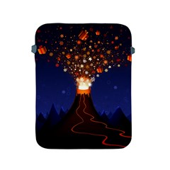 Christmas Volcano Apple iPad 2/3/4 Protective Soft Cases