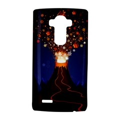 Christmas Volcano LG G4 Hardshell Case