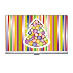 Christmas Tree Colorful Business Card Holders